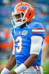 Gator QB Tyler Murphy during the warm ups for the Tennessee game.  Gators vs Tennessee Volunteers.  September 21, 2013.