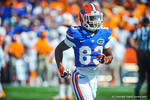WR Solomon Patton runs off field.  Gators vs Tennessee Volunteers.  September 21, 2013.
