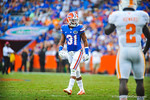 DB Cody Riggs.  Gators vs Tennessee Volunteers.  September 21, 2013.