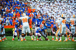 QB Tyler Murphy takes the field for his first snap following the Driskel injury.  Gators vs Tennessee Volunteers.  September 21, 2013.