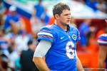 QB Jeff Driskel during warm ups for the Tennessee game.  Gators vs Tennessee Volunteers.  September 21, 2013.