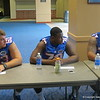Left to right, Trip Thurman, D.J. Humphries and Ian Silberman.