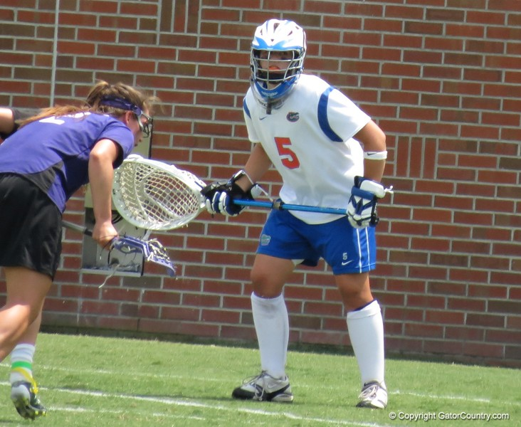 UF goalkeeper Mikey Meagher during the Florida Gators' 14-7 win against the Northwestern Wildcats in the ALC Championship on Saturday, May 5, 2012, at Donald R. Dizney Stadium in Gainesville, Fla. / Gator Country photo by MIke Capshaw