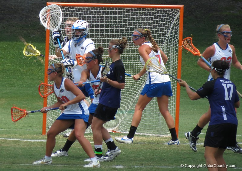 UF's defense was strong during the Florida Gators' 14-7 win against the Northwestern Wildcats in the ALC Championship on Saturday, May 5, 2012, at Donald R. Dizney Stadium in Gainesville, Fla. / Gator Country photo by MIke Capshaw