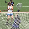 Shannon Gilroy gets one of her seven goals with this shot past the Northwestern goalkeeper during the Florida Gators' 14-7 win against the Wildcats in the ALC Championship on Saturday, May 5, 2012, at Donald R. Dizney Stadium in Gainesville, Fla. / Gator Country photo by MIke Capshaw