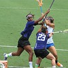 Shannon Gilroy gets mauled after taking a shot during the Florida Gators' 14-7 win against the Northwestern Wildcats in the ALC Championship on Saturday, May 5, 2012, at Donald R. Dizney Stadium in Gainesville, Fla. / Gator Country photo by MIke Capshaw
