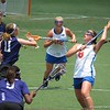 Shannon Gilroy (8) and Nora Barry (22) during the Florida Gators' 14-7 win against the Northwestern Wildcats in the ALC Championship on Saturday, May 5, 2012, at Donald R. Dizney Stadium in Gainesville, Fla. / Gator Country photo by MIke Capshaw