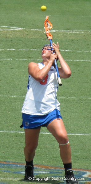Shannon Gilroy on a draw during the Florida Gators' 14-7 win against the Northwestern Wildcats in the ALC Championship on Saturday, May 5, 2012, at Donald R. Dizney Stadium in Gainesville, Fla. / Gator Country photo by MIke Capshaw