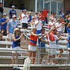 Fans celebrate after the Florida Gators defeated Northwestern 14-7 to win the ALC Championship on Saturday, May 5, 2012, at Donald R. Dizney Stadium in Gainesville, Fla. / Gator Country photo by MIke Capshaw