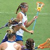 Kitty Cullen looks to pass during the Florida Gators' 14-7 win against the Northwestern Wildcats in the ALC Championship on Saturday, May 5, 2012, at Donald R. Dizney Stadium in Gainesville, Fla. / Gator Country photo by MIke Capshaw