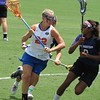Britanny Dashiell on the attack during the Florida Gators' 14-7 win against the Northwestern Wildcats in the ALC Championship on Saturday, May 5, 2012, at Donald R. Dizney Stadium in Gainesville, Fla. / Gator Country photo by MIke Capshaw