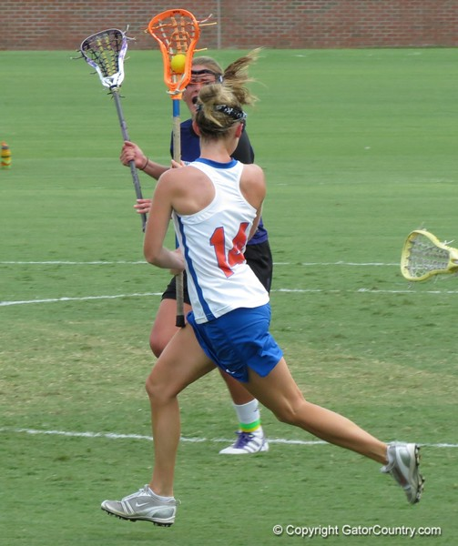 Nora Barry during the Florida Gators' 14-7 win against the Northwestern Wildcats in the ALC Championship on Saturday, May 5, 2012, at Donald R. Dizney Stadium in Gainesville, Fla. / Gator Country photo by MIke Capshaw