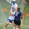 Nora Barry (14) and goalkeeper Mikey Meagher during the Florida Gators' 14-7 win against the Northwestern Wildcats in the ALC Championship on Saturday, May 5, 2012, at Donald R. Dizney Stadium in Gainesville, Fla. / Gator Country photo by MIke Capshaw