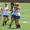 UF players celebrate after a goal during the Florida Gators' 14-7 win against the Northwestern Wildcats in the ALC Championship on Saturday, May 5, 2012, at Donald R. Dizney Stadium in Gainesville, Fla. / Gator Country photo by MIke Capshaw