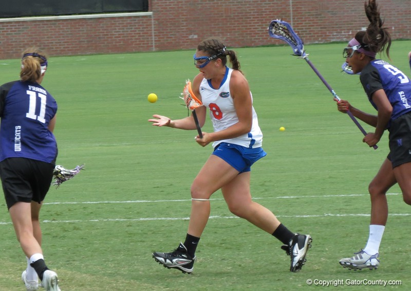 UF freshman Shannon Gilroy during the Florida Gators' 14-7 win against the Northwestern Wildcats in the ALC Championship on Saturday, May 5, 2012, at Donald R. Dizney Stadium in Gainesville, Fla. / Gator Country photo by MIke Capshaw