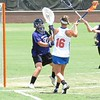 Nicole Graziano puts pressure on the goalkeeper during the Florida Gators' 14-7 win against the Northwestern Wildcats in the ALC Championship on Saturday, May 5, 2012, at Donald R. Dizney Stadium in Gainesville, Fla. / Gator Country photo by MIke Capshaw