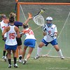Mikey Meagher (5) prepares to defend a shot on goal during the Florida Gators' 14-7 win against the Northwestern Wildcats in the ALC Championship on Saturday, May 5, 2012, at Donald R. Dizney Stadium in Gainesville, Fla. / Gator Country photo by MIke Capshaw
