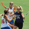 UF's Gabi Wiegand (35) and Caroline Chesterman (3) during the Florida Gators' 14-7 win against the Northwestern Wildcats in the ALC Championship on Saturday, May 5, 2012, at Donald R. Dizney Stadium in Gainesville, Fla. / Gator Country photo by MIke Capshaw