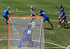 Florida junior attacker Caroline Cochran fires a shot during the Gator's 9-13 loss against No. 5 Seed Duke in the NCAA Championship Quarterfinals on Saturday, May 21, 2011 at Donald R Dizney Lacrosse Stadium in Gainesville, Fla. / photo by Rob Foldy