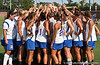 The team gathers together after the Gator's 9-13 loss against No. 5 Seed Duke in the NCAA Championship Quarterfinals on Saturday, May 21, 2011 at Donald R Dizney Lacrosse Stadium in Gainesville, Fla. / photo by Rob Foldy