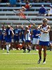 Florida sophomore defender Jamie Reeg passes the ball during the Gator's 9-13 loss against No. 5 Seed Duke in the NCAA Championship Quarterfinals on Saturday, May 21, 2011 at Donald R Dizney Lacrosse Stadium in Gainesville, Fla. / photo by Rob Foldy