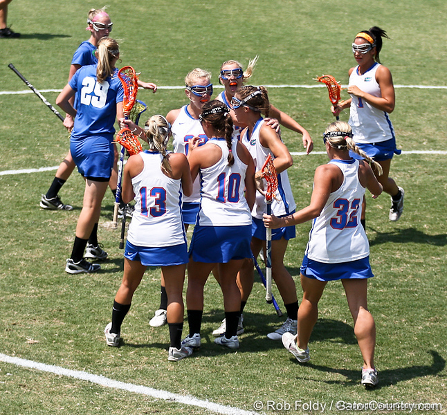 during the Gator's 9-13 loss against No. 5 Seed Duke in the NCAA Championship Quarterfinals on Saturday, May 21, 2011 at Donald R Dizney Lacrosse Stadium in Gainesville, Fla. / photo by Rob Foldy