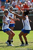 Florida players celebrate during the Gator's 9-13 loss against No. 5 Seed Duke in the NCAA Championship Quarterfinals on Saturday, May 21, 2011 at Donald R Dizney Lacrosse Stadium in Gainesville, Fla. / photo by Rob Foldy