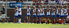 Florida head coach Amanda O'Leary and her team look on during the Gator's 9-13 loss against No. 5 Seed Duke in the NCAA Championship Quarterfinals on Saturday, May 21, 2011 at Donald R Dizney Lacrosse Stadium in Gainesville, Fla. / photo by Rob Foldy