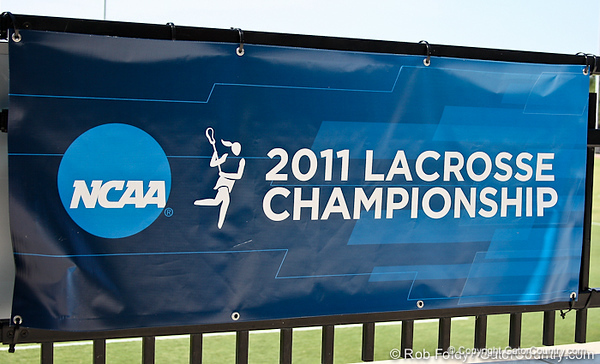NCAA banners were displayed during the Gator's 9-13 loss against No. 5 Seed Duke in the NCAA Championship Quarterfinals on Saturday, May 21, 2011 at Donald R Dizney Lacrosse Stadium in Gainesville, Fla. / photo by Rob Foldy