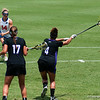Florida freshman Nora Barry during the Gators' 6-4 NCAA 1st round win against the University of Albany on Saturday, May 12, 2012 at the Donald R. Dizney Stadium in Gainesville, Fla. / Gator Country photo by Saj Guevara