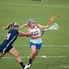 Florida junior Ashley Bruns  passes the ball during the Gators' 29-0 win against the Fresno State Bulldogs on Wednesday, March 28, 2012 at the Donald R. Dizney Stadium in Gainesville, Fla. / Gator Country photo by Saj Guevara