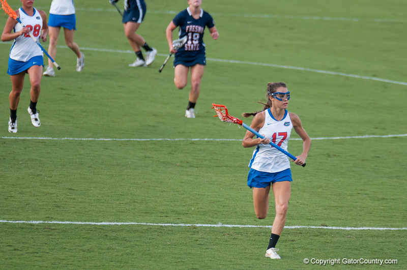 Florida junior Haydon Judge on offense during the Gators' 29-0 win against the Fresno State Bulldogs on Wednesday, March 28, 2012 at the Donald R. Dizney Stadium in Gainesville, Fla. / Gator Country photo by Saj Guevara