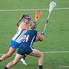 Florida freshman Maegan Meritz on the attack during the Gators' 29-0 win against the Fresno State Bulldogs on Wednesday, March 28, 2012 at the Donald R. Dizney Stadium in Gainesville, Fla. / Gator Country photo by Saj Guevara