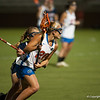 Florida junior Kayla Stolins on the attack during the Gators' 29-0 win against the Fresno State Bulldogs on Wednesday, March 28, 2012 at the Donald R. Dizney Stadium in Gainesville, Fla. / Gator Country photo by Saj Guevara