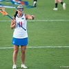 Florida red shirt sophomore Erin Graziano directing plays during the Gators' 29-0 win against the Fresno State Bulldogs on Wednesday, March 28, 2012 at the Donald R. Dizney Stadium in Gainesville, Fla. / Gator Country photo by Saj Guevara