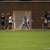 Florida junior goalkeeper saves the ball during the Gators' 29-0 win against the Fresno State Bulldogs on Wednesday, March 28, 2012 at the Donald R. Dizney Stadium in Gainesville, Fla. / Gator Country photo by Saj Guevara