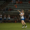 Florida freshman Mikki Offit passes the ball during the Gators' 29-0 win against the Fresno State Bulldogs on Wednesday, March 28, 2012 at the Donald R. Dizney Stadium in Gainesville, Fla. / Gator Country photo by Saj Guevara
