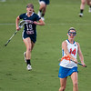 Florida freshman Nora Barry passes the ball during the Gators' 29-0 win against the Fresno State Bulldogs on Wednesday, March 28, 2012 at the Donald R. Dizney Stadium in Gainesville, Fla. / Gator Country photo by Saj Guevara