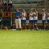 Florida coach Amanda O'Leary during the Gators' 29-0 win against the Fresno State Bulldogs on Wednesday, March 28, 2012 at the Donald R. Dizney Stadium in Gainesville, Fla. / Gator Country photo by Saj Guevara