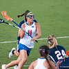 Florida red shirt sophomore Erin Graziano on the attack during the Gators' 29-0 win against the Fresno State Bulldogs on Wednesday, March 28, 2012 at the Donald R. Dizney Stadium in Gainesville, Fla. / Gator Country photo by Saj Guevara