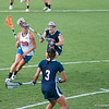 Florida sophomore Krista Grabher   on the attack during the Gators' 29-0 win against the Fresno State Bulldogs on Wednesday, March 28, 2012 at the Donald R. Dizney Stadium in Gainesville, Fla. / Gator Country photo by Saj Guevara