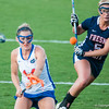 Florida freshman Nora Barry scores 1 of 5 goals during the Gators' 29-0 win against the Fresno State Bulldogs on Wednesday, March 28, 2012 at the Donald R. Dizney Stadium in Gainesville, Fla. / Gator Country photo by Saj Guevara