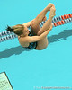 photo by Tim Casey<br /> <br /> Florida's Kaylee Doback competes in the 3 meter diving competition during the Gators' final home swimming and diving meet of the season on Saturday, January 31, 2009 at the Stephen C. O'Connell Center in Gainesville, Fla.