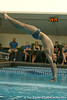 photo by Tim Casey<br /> <br /> Florida's Grayson Patton competes in the 3 meter diving competition during the Gators' final home swimming and diving meet of the season on Saturday, January 31, 2009 at the Stephen C. O'Connell Center in Gainesville, Fla.
