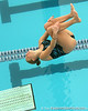 photo by Tim Casey<br /> <br /> Florida's Taylor Vander Ark competes in the 3 meter diving competition during the Gators' final home swimming and diving meet of the season on Saturday, January 31, 2009 at the Stephen C. O'Connell Center in Gainesville, Fla.