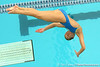 photo by Tim Casey<br /> <br /> FGCU's Sarah McCollough competes in the 3 meter diving competition during the Gators' final home swimming and diving meet of the season on Saturday, January 31, 2009 at the Stephen C. O'Connell Center in Gainesville, Fla.