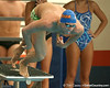 photo by Tim Casey<br /> <br /> Florida's Clark Burckle competes in the 400 yard medley relay during the Gators' final home swimming and diving meet of the season on Saturday, January 31, 2009 at the Stephen C. O'Connell Center in Gainesville, Fla.