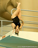 Florida senior Kaylee Doback competes in 3-meter diving during the Gators' meet against the Florida Atlantic Owls on Saturday, January 14, 2012 at the Stephen C. O'Connell Center Natatorium in Gainesville, Fla. / Gator Country photo by Tim Casey