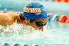 Florida senior Gabriel Huen competes in the men's 200-yard butterfly during the Gators' meet against the Florida Atlantic Owls on Saturday, January 14, 2012 at the Stephen C. O'Connell Center Natatorium in Gainesville, Fla. / Gator Country photo by Tim Casey