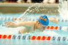 Florida freshman Rebecca Rainer competes in the women's 200-yard butterfly during the Gators' meet against the Florida Atlantic Owls on Saturday, January 14, 2012 at the Stephen C. O'Connell Center Natatorium in Gainesville, Fla. / Gator Country photo by Tim Casey